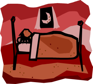 clipart-liftarn-A-person-sleeping